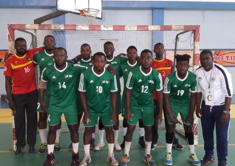 16ème journée du championnat semi-professionnel de handball masculin : victoire de la JSM face au Réveil Dribbling (29-26)