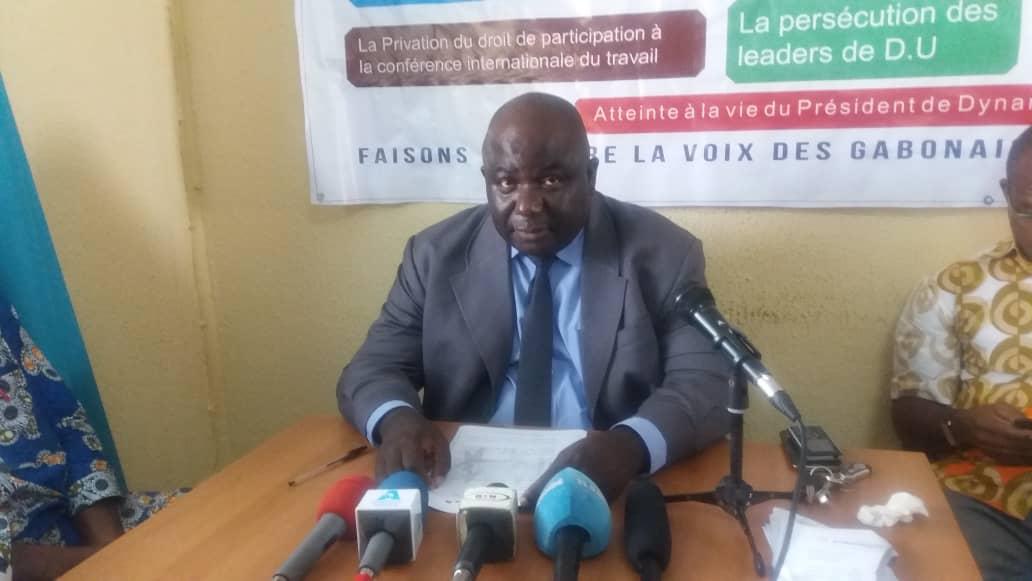 Dynamique unitaire appelle l'ensemble des travailleurs gabonais à une assemblée générale le 7 novembre