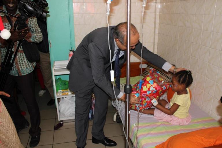 Gabon Telecom au chevet des enfants malades du CHUL