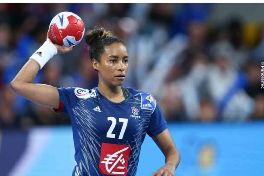 La franco-gabonaise Estelle Ze Minko championne d'Europe de handball