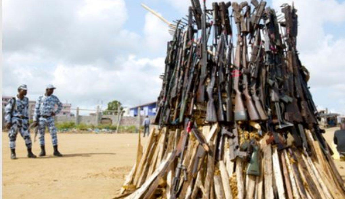 Près de 500000 dollars pour lutter contre les armes légères en Afrique centrale