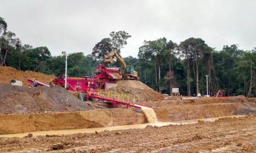 Exploitation illégale et scandaleuse de l'or à Ndjolé (ONG)