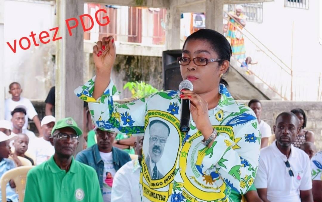 Rose Christiane Ossouka Raponda retourne dans le «bwiti»