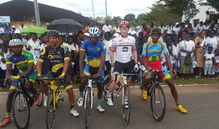 L'Allemand André Greipel parmi les 5 leaders de la Tropicale Amissa Bongo 2019