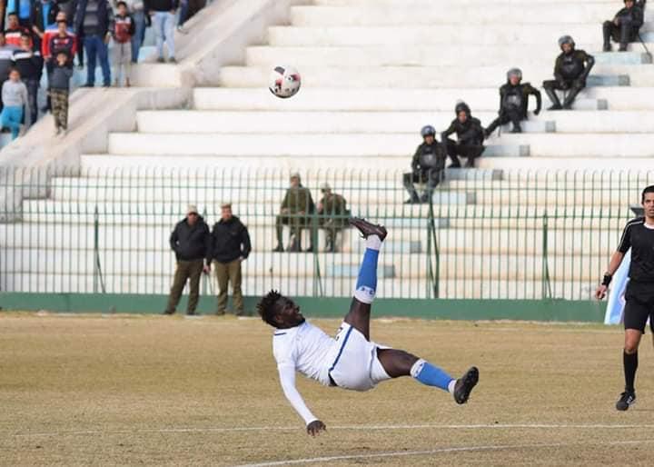 Un jeune international gabonais fait la gloire du football en Egyptien