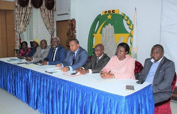 Exclus du PDG : une centaine des militants de Moanda exige l'annulation de la sanction jugée inique
