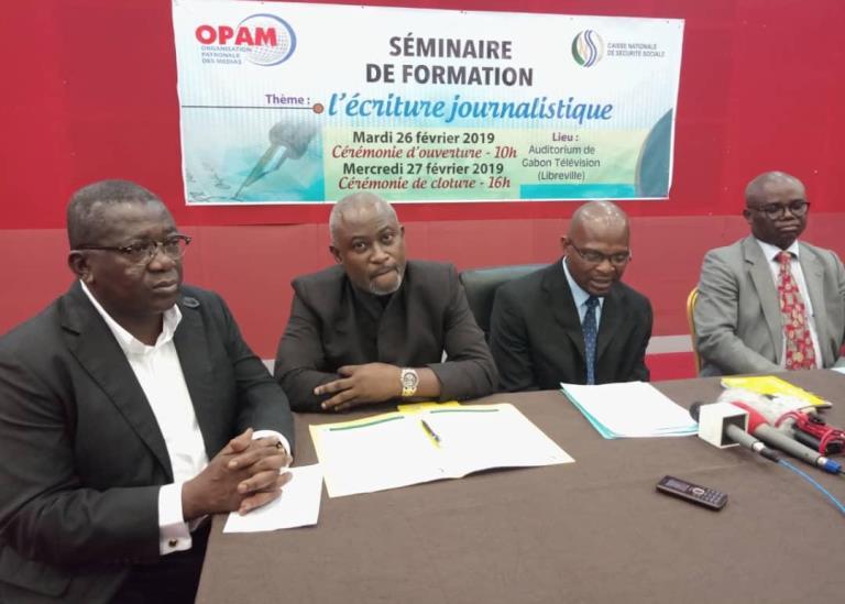 L'OPAM organise un séminaire de formation sur l'écriture journalistique pour rehausser le professionnalisme