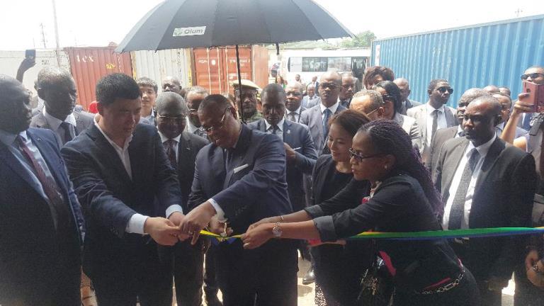 ZERP de Nkok : Julien Nkoghé Bekalé inaugure Jin Shan Wood, une usine moderne de transformation du bois