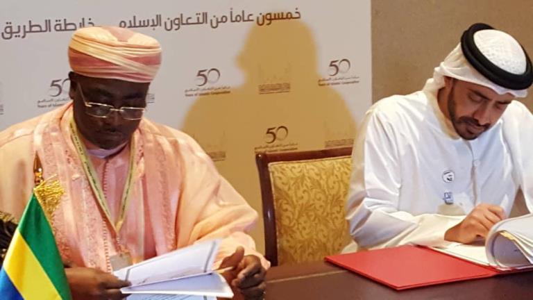 46ème session de l'OCI à Abu Dabi : plusieurs accords entre le Gabon et les Emirats Arabes Unis
