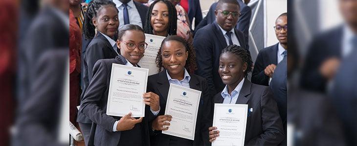 La Fondation BGFIBank offre des bourses aux étudiants de BBS au Gabon pour la 5ème année consécutive