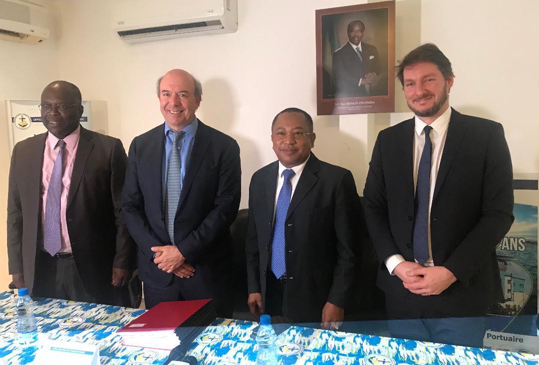 Grande Mayumba Development Company signe un accord de convention de concession portuaire avec l'OPRAG