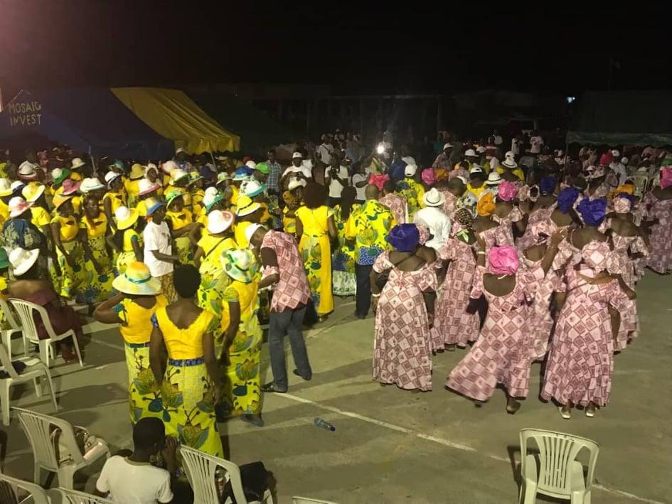 12 mars: les Pédégistes de Port-Gentil n'ont pas boudé leur plaisir