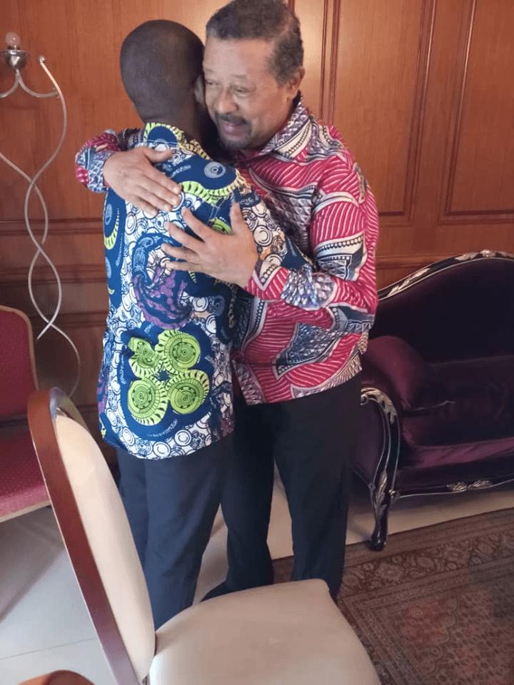 Jean Ping prêt à accueillir Landry Washington Amiang