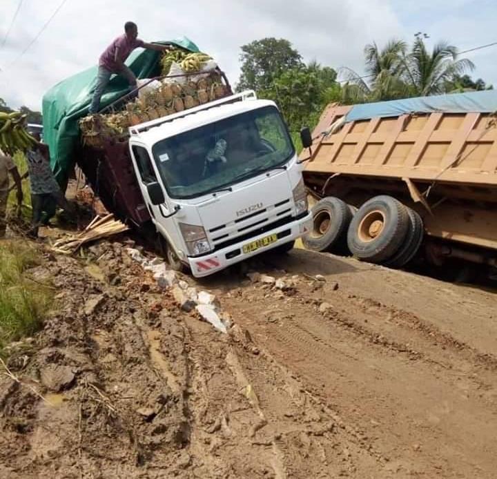 Gabon : encore le calvaire au PK80 sur la RN1