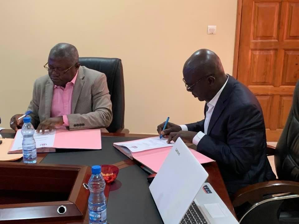 Radio-Gabon et EM Gabon Université signent un partenariat gagnant-gagnant