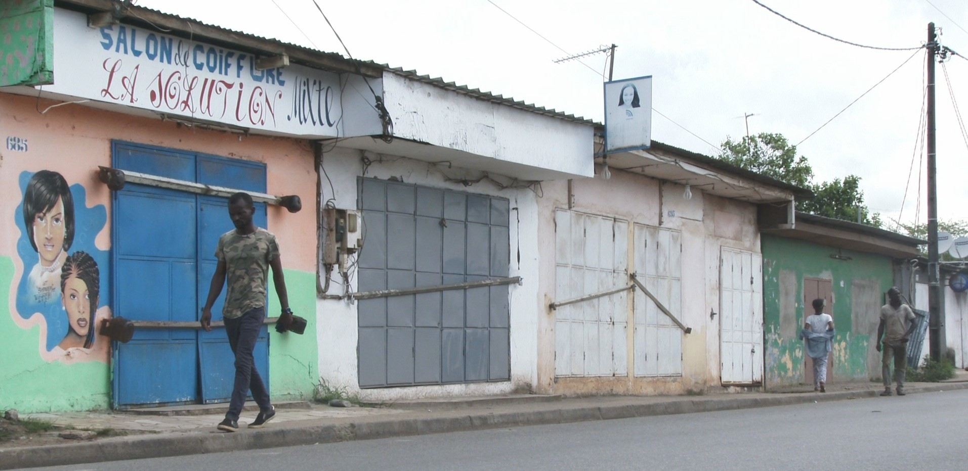 Les commerçants ont fermé boutiques à Libreville  pour mettre fin aux contrôles abusifs de la mairie