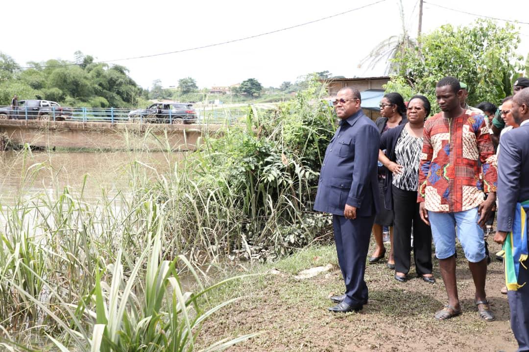 Ali Bongo offre 1 500 matelas et plusieurs équipements aux sinistrés du Moyen Ogooué
