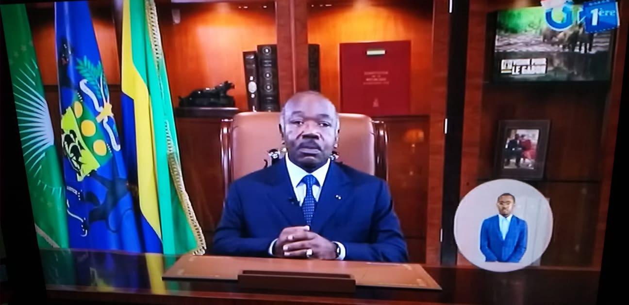 Message de voeux de nouvel an d'Ali Bongo aux Gabonais