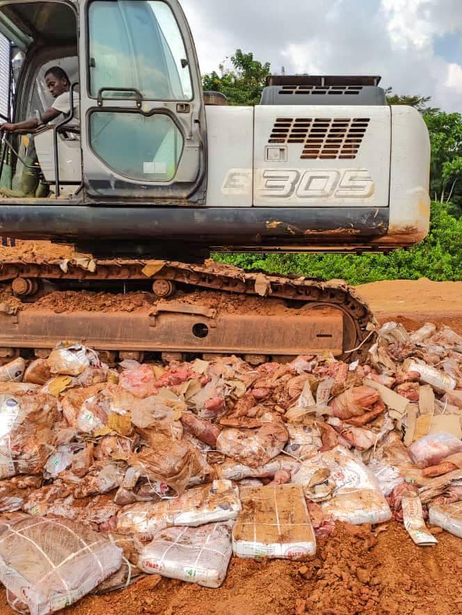 L'AGASA détruit plus de 28 tonnes de produits alimentaires impropres à la consommation