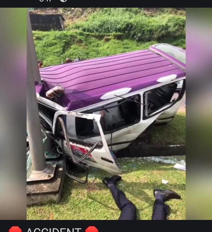 17 blessés dont 2 graves dans un accident de circulation à Plein-ciel