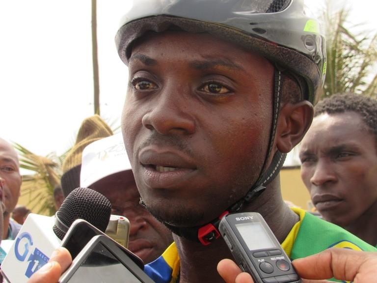 « Si cette année les choses ne changent pas, l'année prochaine on ne nous verra pas à la tropicale », (Geoffroy Ngandamba, capitaine de l'équipe gabonaise du cyclisme)