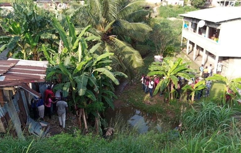 Un cadavre découvert  dans un ruisseau à Plein-Ciel au PK6