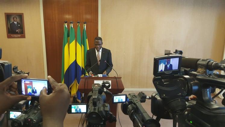 Déclaration intégrale sur la fermeture des frontières au Gabon