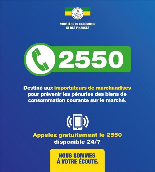 Coronavirus : un numéro vert pour éviter une pénurie de nourriture au Gabon