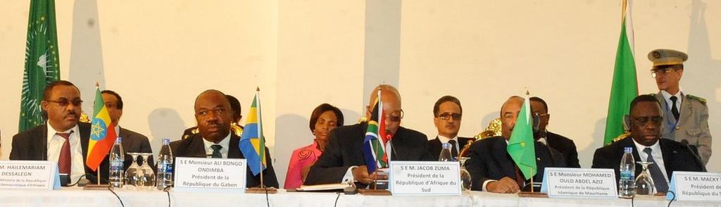 Les envoyés spéciaux de l'UA à Bujumbura @ DCP