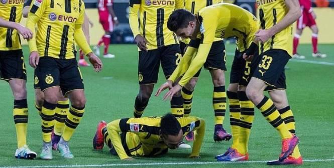 Pierre-Emerick Aubameyang offre la victoire à Dortmund contre le grand Bayern